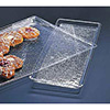 "Acrylic Serving Tray, Textured, 10""Wx12""D"
