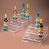 Cal-Mil P-296 Flavored Syrup Bottle Organizer, 3 Tiers, Clear