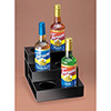 Flavored Syrup Bottle Organizer, 3 Tiers, Black