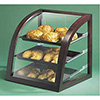Bakery Display Case - Wood Trim Euro Style