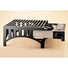 "Cooking Station with Stainless Steel Grates 13""Wx14""Dx9""H"