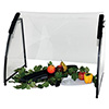 "Portable Metal Frame Sneeze Guard - 72""W"