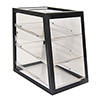 "Aluminum Display Case - Attendant Serve, 17-3/4""Wx18""Dx21-1/2""H"