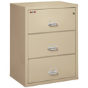 "FireKing 3-3122-CPA 3 Drawer 31"" Wide Lateral File"