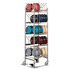 Meal Delivery Drying Storage Rack - Holds 50 Domes or 100 Bases/Underliners