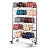 Meal Delivery Drying Storage Rack - Holds 80 Domes or 160 Bases/Underliners