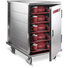 """Enclosed Tray Delivery Cart - 10 Tray Capacity, 23-3/4""""Wx34-3/16""""Dx37-1/8""""H"""