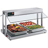 "Buffet Food Warmer - 61-1/8""Wx20-3/4""H"