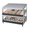 "Hot Food Display Case - Slant 24"" Width"