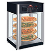 Hot Food Display Cabinet - Humidified 4-Tier Rotating Pizza Rack