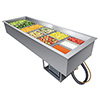 "Refrigerated Drop-In Wells - 2 Full-Size Pan Capacity, 32""W"