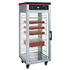 Hot Food Display Case - 1 Door, Holds 16 Boxed Pizzas or 8 Bagged Pizzas