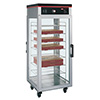 Hot Food Display Case - 2 Doors, Holds 16 Boxed Pizzas or 8 Bagged Pizzas
