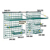 """SmartWall G3 Storage System - 48""""Wx30""""H Grid Wall Track Kit"""