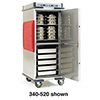 "Heavy Duty Heated Holding Cabinet - 1/2 Height, Adjustable Bottom Load, 48-3/5""H"