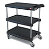 "MY1627-34 Utility Cart - 3 Shelves, 300 lb. Capacity, 16""Wx27""Dx36-1/9""H"