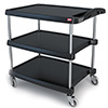 "MY2030-34 Utility Cart - 3 Shelves, 400 lb. Capacity, 20""Wx30""Dx36-1/9""H"