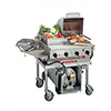 "Outdoor Gas Grill - Deluxe, 4 Burners, 30""W, FREE Central Edge Kit"