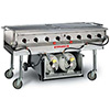 "Magicater Commercial Outdoor Gas Grill Deluxe 60"" Wide Grill"