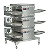 "Digital Countertop Conveyor Oven - Gas, Triple Stack, 60""L"