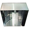 "Commercial Range Hood - Make-Up Air Hood 48""Wx9 ft. Long, Stainless Steel"