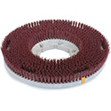 """Carlisle 361600G22-5N Colortech Red Rotary Grit Brush 16"""""""