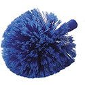 Carlisle 36340414 Flo-Pac Round Duster With Soft Flagged PVC Bristles , DZ of 1/DZ
