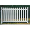 Picket Style Upscale Portable Event Fencing