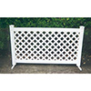 Lattice Style Upscale Portable Event Fencing