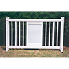 Display Style Upscale Portable Event Fencing