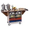 "Beverage Trasnport and Serving Cart - 72""Wx24""Dx38-3/8""H"