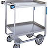 "Lakeside 543 743- Stainless Steel Utility Cart, 700 lb. Capacity, (2) 21""Wx33""D Shelves"
