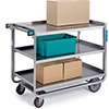 "Lakeside 944 - Utility Cart, 39""W, 3 Shelves, 1000 lb. Capacity"