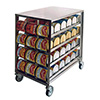 Can Rack - Holds (72) 10 lb. Cans or (96) 5 lb. Cans