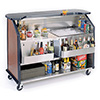 "Portable Bar - 40 lb. Ice Bin, 63-1/2""D"