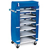 """Lakeside 437 - Stainless Steel Tray Pick-Up with Cover, 30-3/4""""W"""