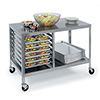 "Lakeside 130 - Stainless Steel Mobile Work Table, 48""W"