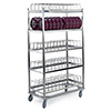 "Lakeside 897 - Stainless Steel Drying Rack for Domes, 39-1/4""W"