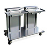 "Lakeside 2819 - Mobile Cantilever Tray Dispenser, Double Platform, 47""W"