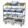 "Lakeside B588 - Queen Mary Breakdown Cart, 67-3/4""W"