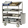 "Lakeside B599 - Queen Mary Breakdown Cart, 75-1/2""W"