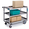 """Lakeside 954 - Tough Duty Stainless Steel Utility Cart, 48""""W"""