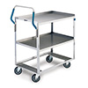"Lakeside 6810 - Medium Duty Ergo-One Utility Cart, 31-1/8""W"