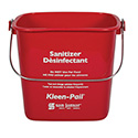 Klean-Pail Soap/Sanitizing Solution Safety Pail 6 Quart