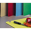 "Restaurant Cutting Boards - Colored 12""x18"" Convenience Pack, 5 Cutting Boards"