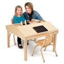 "Jonti-Craft 3850JC Quad Tablet And Reading Table - 20"" High"