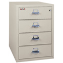 FireKing 4-2536-CPA 4 Drawer Card, Check and Note Files
