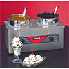 Food Warmer, Two 4 Qt. Wells, 700 Watts