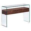 Zuo Modern 404067 Shaman Console Table, Walnut