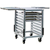 """Slicer/Mixer Stand - 37""""H, Holds (6) 18""""x26"""" Pans"""